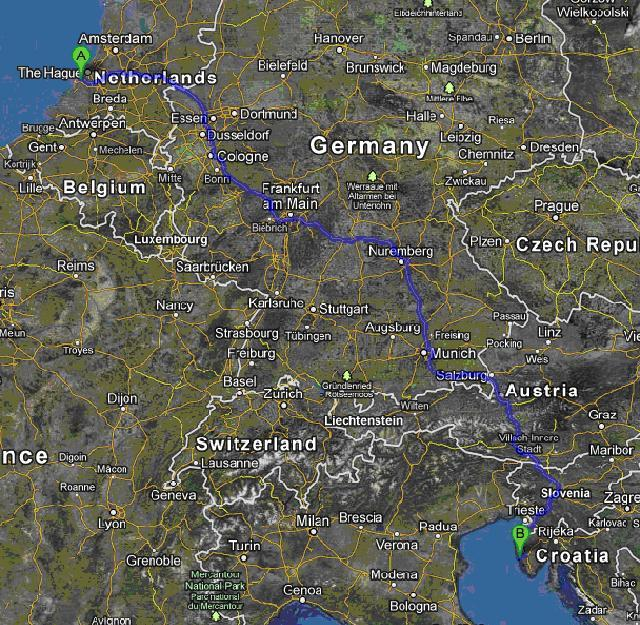 croatia route 330