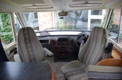 Two swivel seats